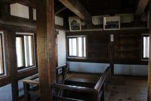 丸亀城の天守内部