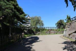 弘前城の本丸