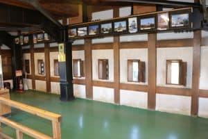 弘前城の内部