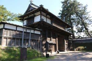 弘前城・北門(亀甲門)