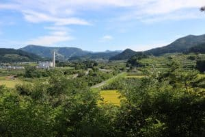大仏ヶ鼻城からの展望