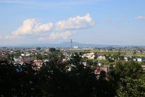 石川城からの展望