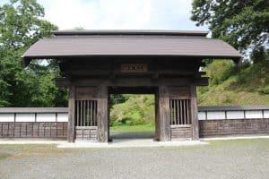 七戸城・東門