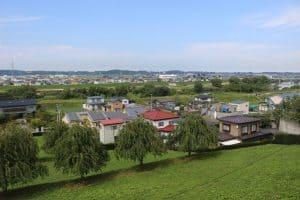 根城からの眺め
