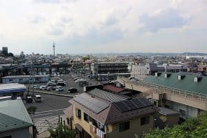 八戸城からの展望