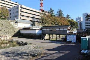 福井城・御廊下橋