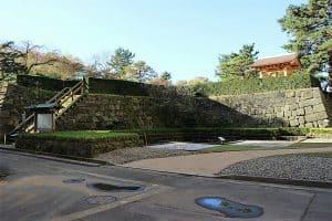 福井城の天守台