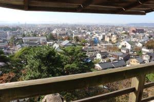 丸岡城からの展望