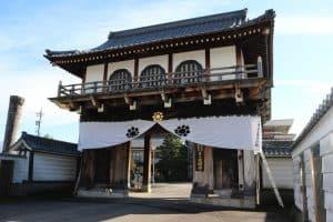 大野城移築城門(鳩門)