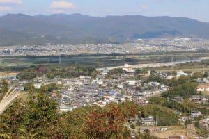 上桜城からの展望