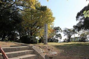 徳島城の東二の丸跡