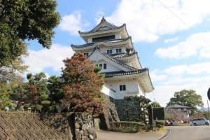 川島城模擬天守