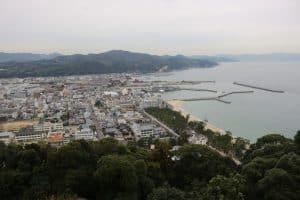 洲本城からの風景