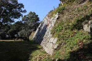 高鍋城(財部城)の石垣
