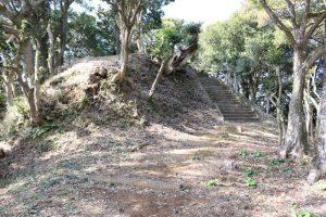高鍋城(財部城)の本丸