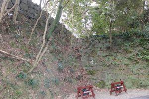 御三階櫓の石垣