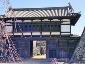 小諸城の大手門