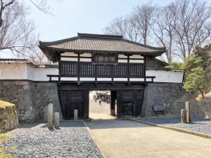 小諸城の三の門