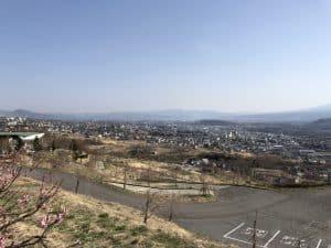 富士見城からの展望