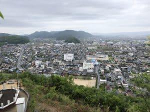 神辺城(村尾城)からの展望