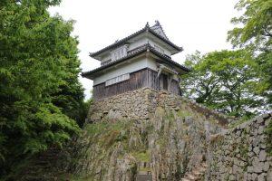 備中松山城の二重櫓