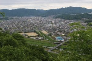 相方城からの展望