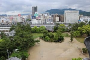 福山城からの展望