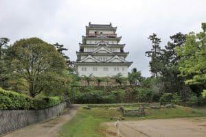 福山城(裏側)