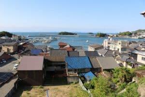 鞆城からの展望