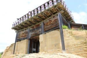 鬼ノ城の「西門」