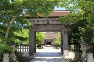 津山城の移築門