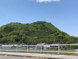 周匝茶臼山城と大仙山城