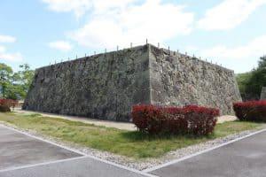 津山城の天守台