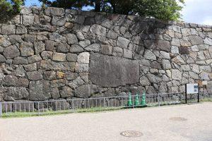 名古屋城の石垣