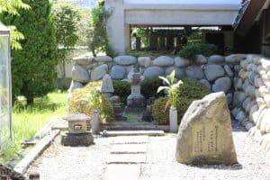 前田長定の墓