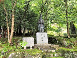 北畠顕家の銅像