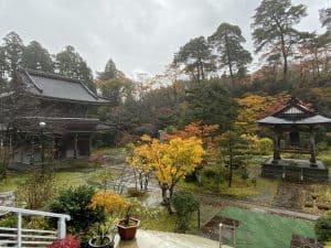 紅葉の林泉寺