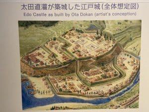 昔の江戸城