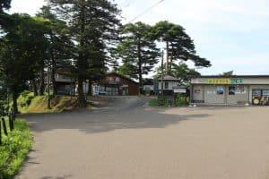 春日山城の茶屋