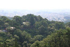 春日山城からの展望