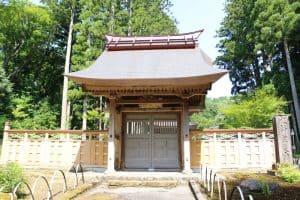 春日山城の搦手門