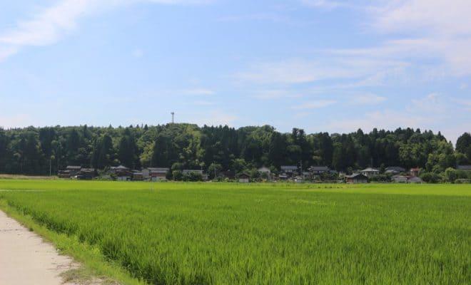 越後・安田城(新潟県柏崎市)