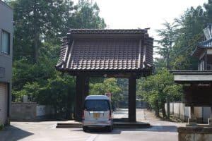 三条城の移築門