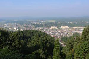 栃尾城からの展望
