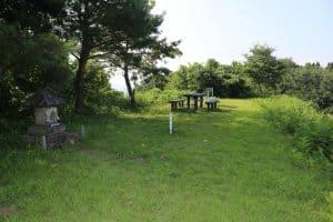 栃尾城の本丸