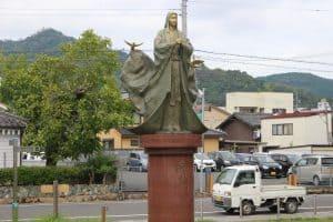 細川ガラシャの像