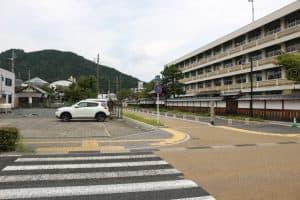 田辺藩校・明倫館正門