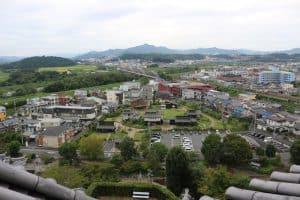 福知山城からの展望