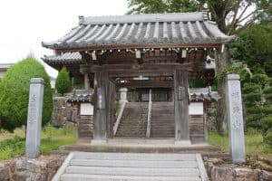 篠山城の移築城門