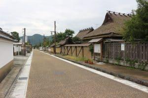篠山城の城下町